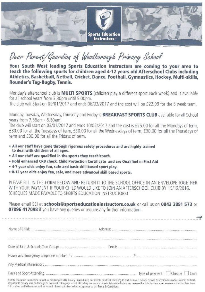 Sports Education Instructors - Multi Sports & Breakfast
