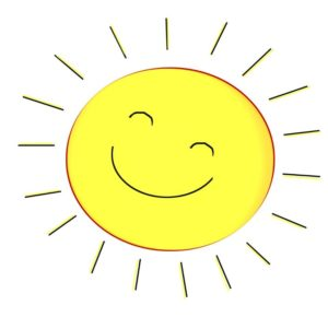 adorable sunshine images clip art free sun black and white clipart rh woodboroughschool org Sunshine with Wings Clip Art Free free clip art sunshine face